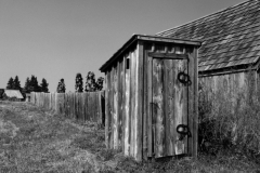 Outhouse #310 b&w