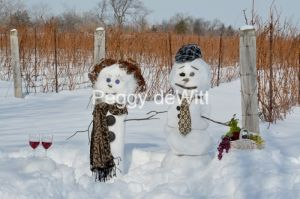 Snowmen Vineyard #3509