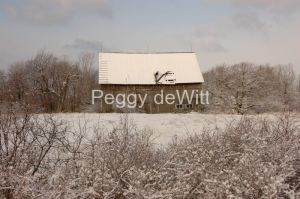 Barn Pt Petre Winter #1753