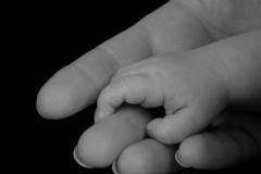 Baby Hands B&W #1619