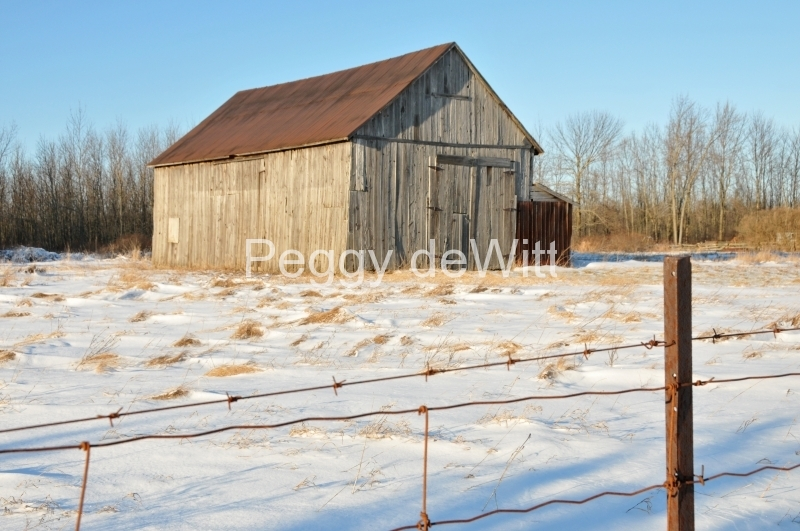 Barn Milford Winter #2928