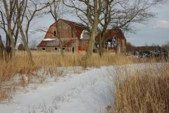 Barn Cressy Winter #1517