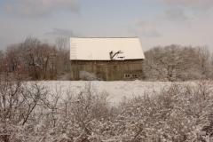 Barn Pt Petre Winter #1753
