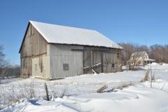 Barn Salmon Pt Winter #3077