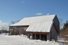 Barn Shed Salmon Pt Winter #3078