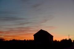 Barn Sunset 2015 #3128