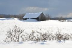 Barn Wellers Bay Winter #3082