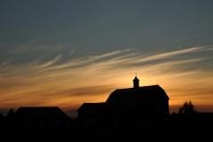 Barn West Lake Sunset #1626