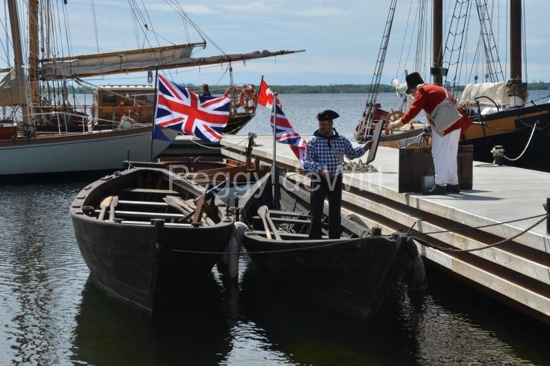 Bath 1812 Ships Sailors #3091