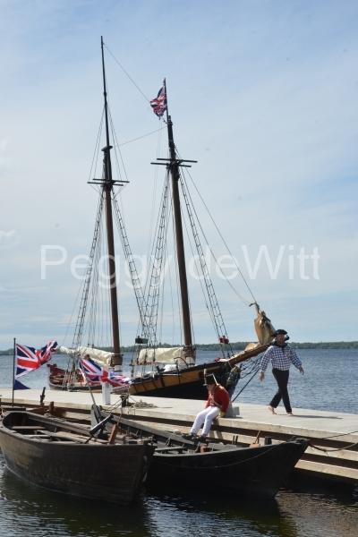 Bath 1812 Ships Sailors (v) #3090
