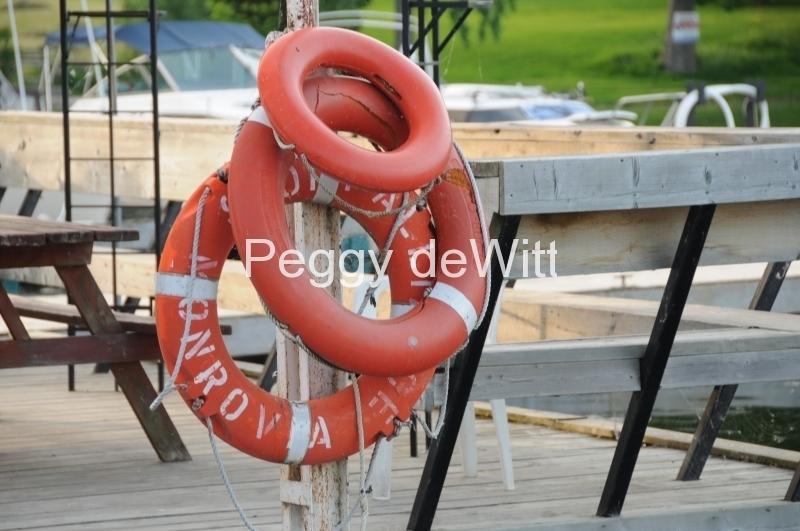 Bath Loyalist Cove Marina Liferings #1635