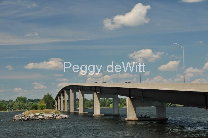 Belleville Bridge Clouds #2857