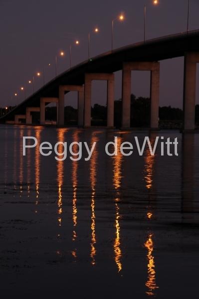 Belleville Bridge Sunset (v) #1689