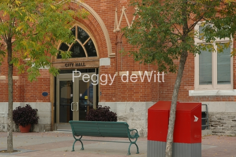 Belleville City Hall Doors #1760