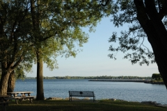 Belleville Bay of Quinte Bench #1640
