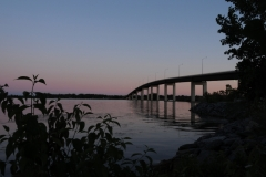 Belleville Bridge Sunset #1680