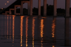 Belleville Bridge Sunset (v) #1689