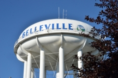 Belleville Water Tower Closeup #3102