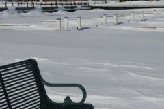 Belleville Winter Anchorage Bench (v) #2802