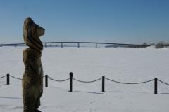 Belleville Winter Totempole #2803