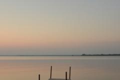 Big Island Dock Sunset Donna (v) #3177