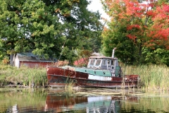 Boat Black River Fall #3149