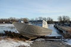 Boat Pt Traverse Winter #2118