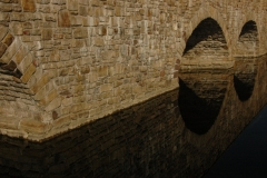 Lyndhurst Brick Bridge Reflection #1302