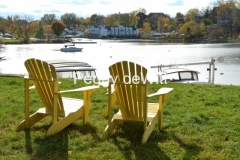 Chairs Yellow Picton Harbour #3163