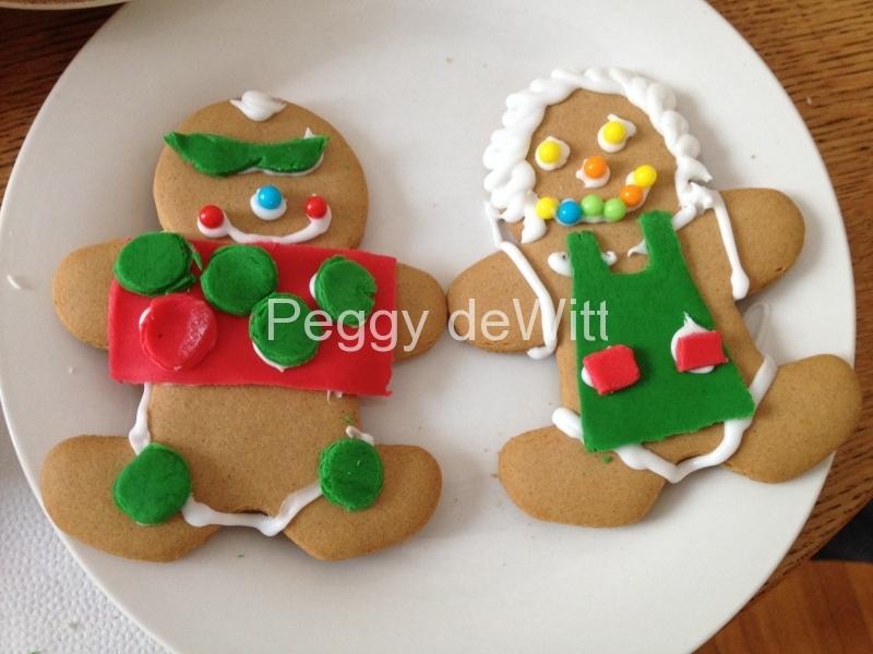 Christmas Ginger Breadmen #3164