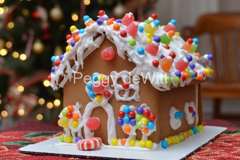 Christmas Gingerbread House #3179