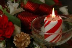Christmas Candle #1267