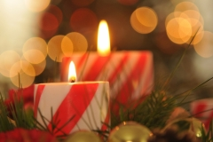 Christmas Candles #2882