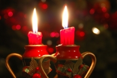 Christmas Candles (v) #2884