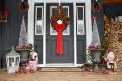 Christmas Door Hillier #3546