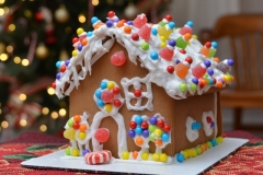 Christmas Gingerbread House #3179