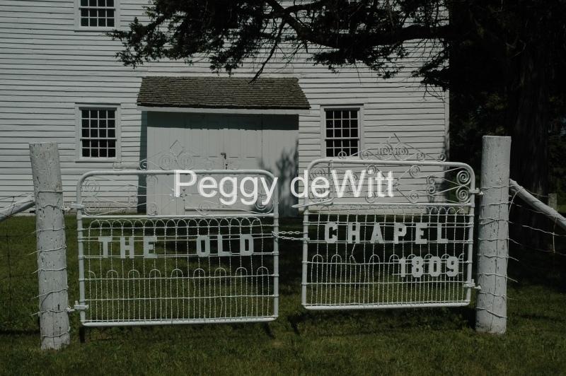Church White Chapel Gate #2887