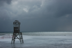 Cobourg Life Guard Stand Winter #1338
