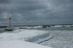 Cobourg Marina Winter #1341