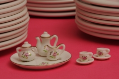 Dishes Teaset Pink #2374
