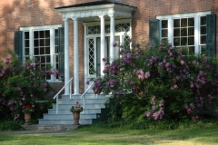 Door Macaulay House Lilacs #1810