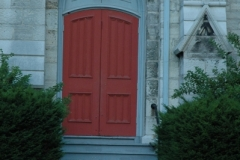 Kingston Door Red Church (v) #1429