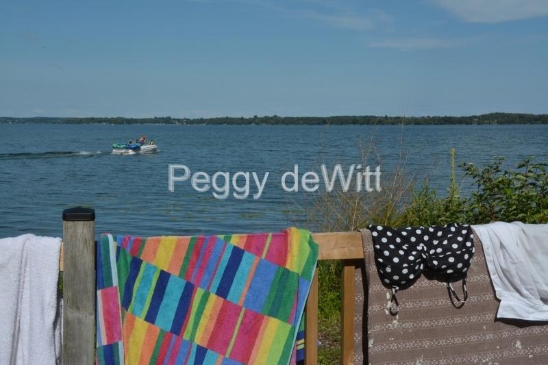 East Lake Railing Towel #3186