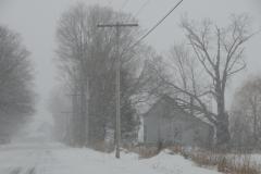 East Lake Road Winter #2967
