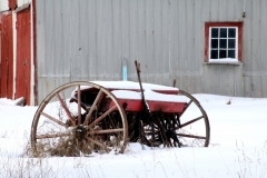 Wheels Window Winter #3520