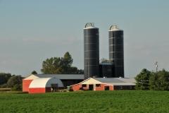 Farm Blue Silos #2969