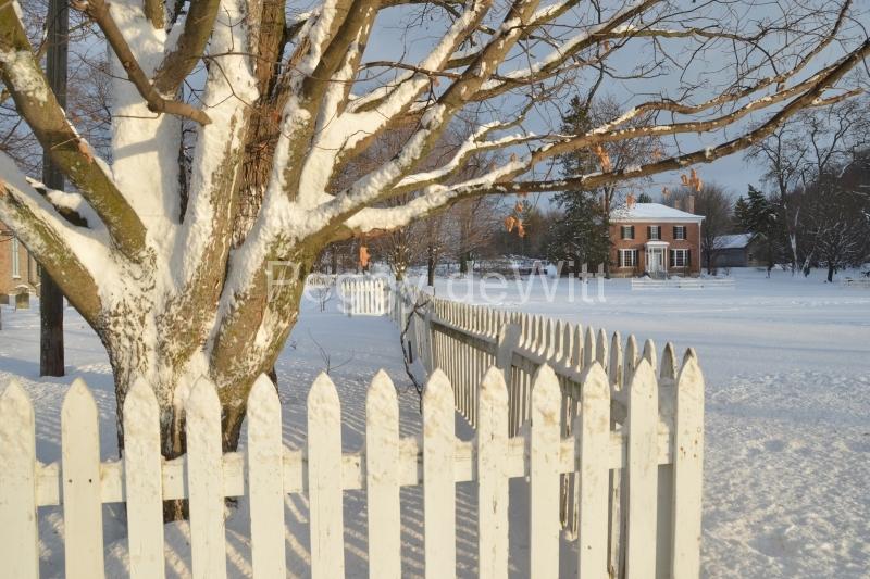 Fence Picket Macaulay Winter #3190