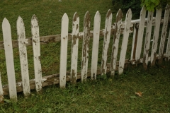 Kingston White Fence #1494