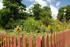 Flowers Macaulay Garden Fence #2021