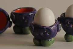 Egg Cups Pottery #2898